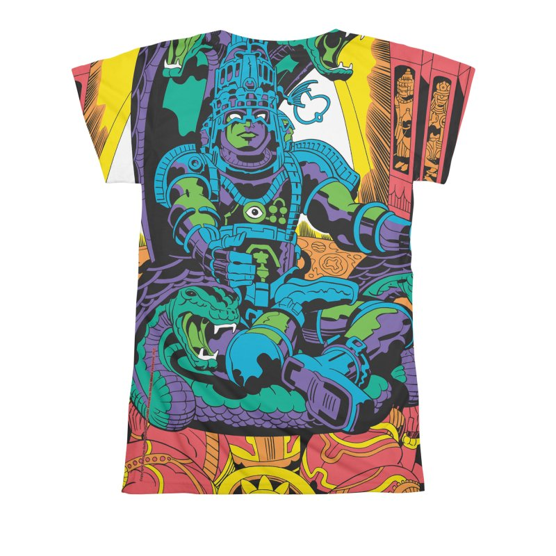 Royal Chambers of Brahma - Jack Kirby and Barry Geller Women's All Over Print by Heavy Metal Magazine