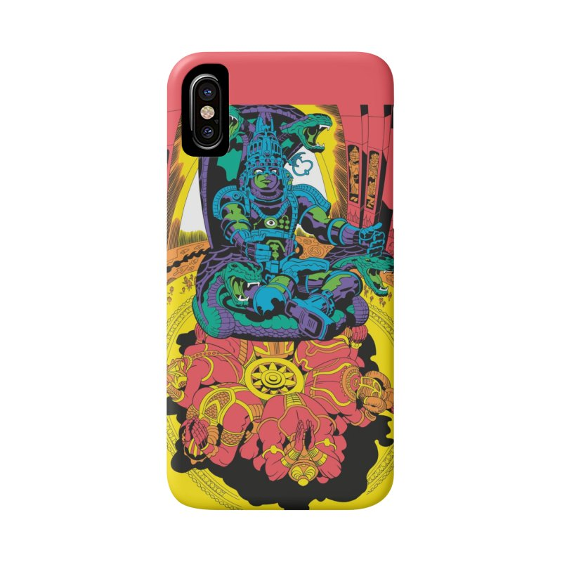 Royal Chambers of Brahma - Jack Kirby and Barry Geller Accessories Phone Case by Heavy Metal Magazine