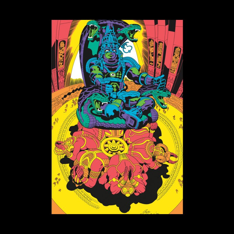 Royal Chambers of Brahma - Jack Kirby and Barry Geller by Heavy Metal Magazine