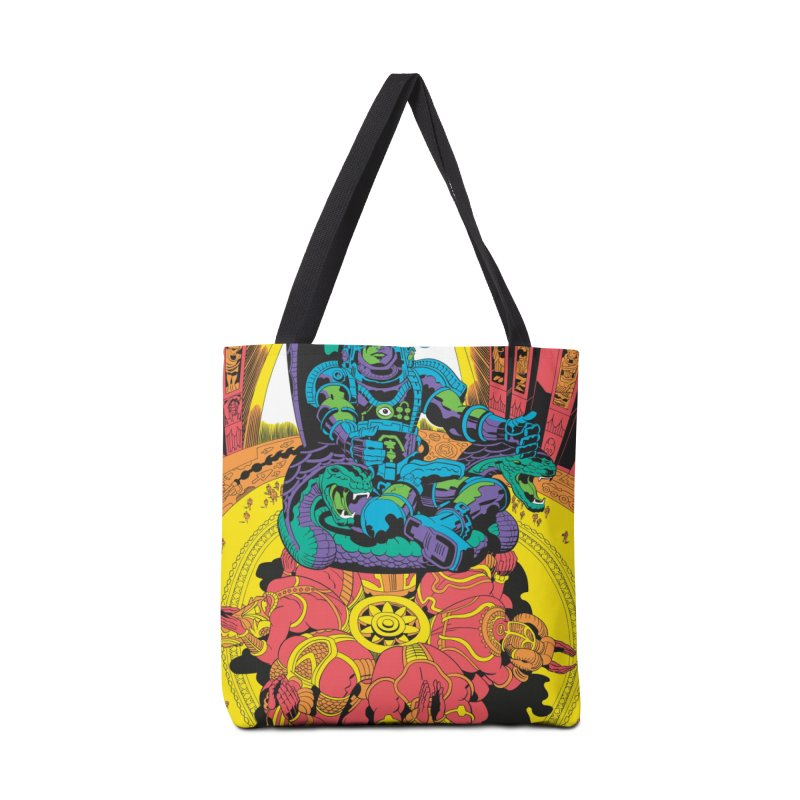 Royal Chambers of Brahma - Jack Kirby and Barry Geller Accessories Tote Bag Bag by Heavy Metal Magazine
