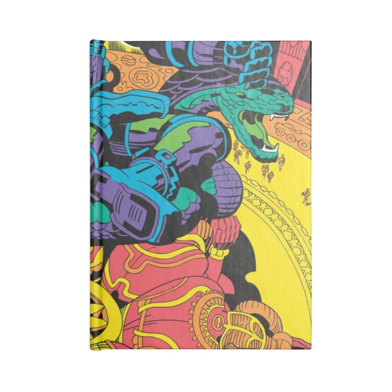 Royal Chambers of Brahma - Jack Kirby and Barry Geller Accessories Notebook by Heavy Metal Magazine