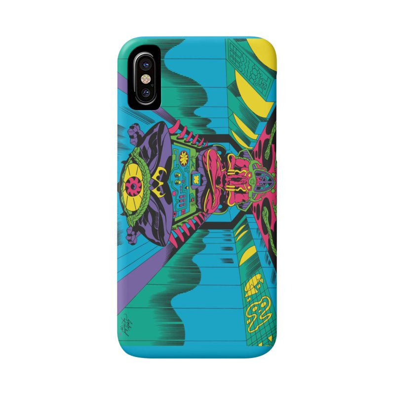 Jet Tube Transporter - Jack Kirby and Barry Geller Accessories Phone Case by Heavy Metal Magazine