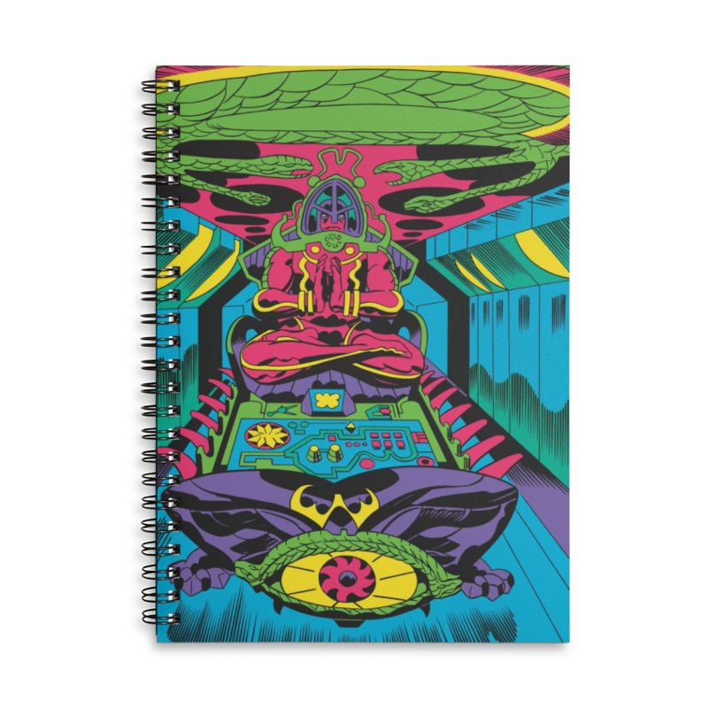 Jet Tube Transporter - Jack Kirby and Barry Geller Accessories Lined Spiral Notebook by Heavy Metal Magazine