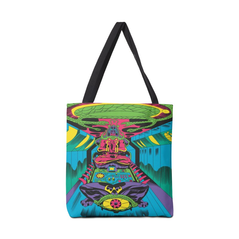 Jet Tube Transporter - Jack Kirby and Barry Geller Accessories Tote Bag Bag by Heavy Metal Magazine