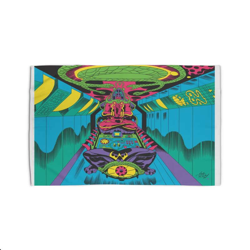 Jet Tube Transporter - Jack Kirby and Barry Geller Home Rug by Heavy Metal Magazine