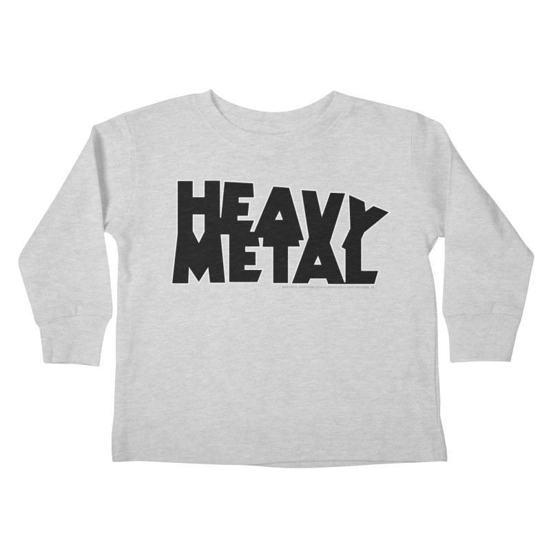 Heavy Metal Kids Toddler Longsleeve T-Shirt by Heavy Metal Magazine