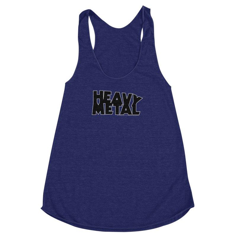 Heavy Metal Women's Racerback Triblend Tank by Heavy Metal Magazine