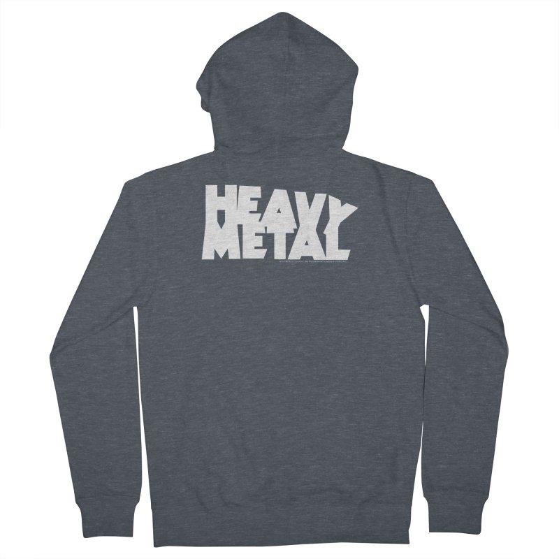 Heavy Metal Men's Zip-Up Hoody by Heavy Metal Magazine