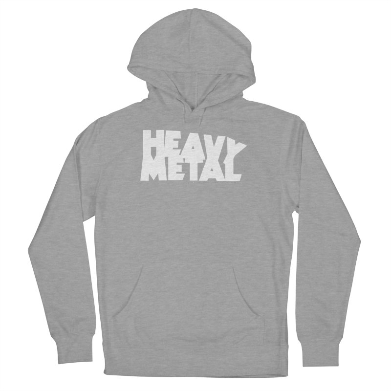 Heavy Metal Women's French Terry Pullover Hoody by Heavy Metal Magazine