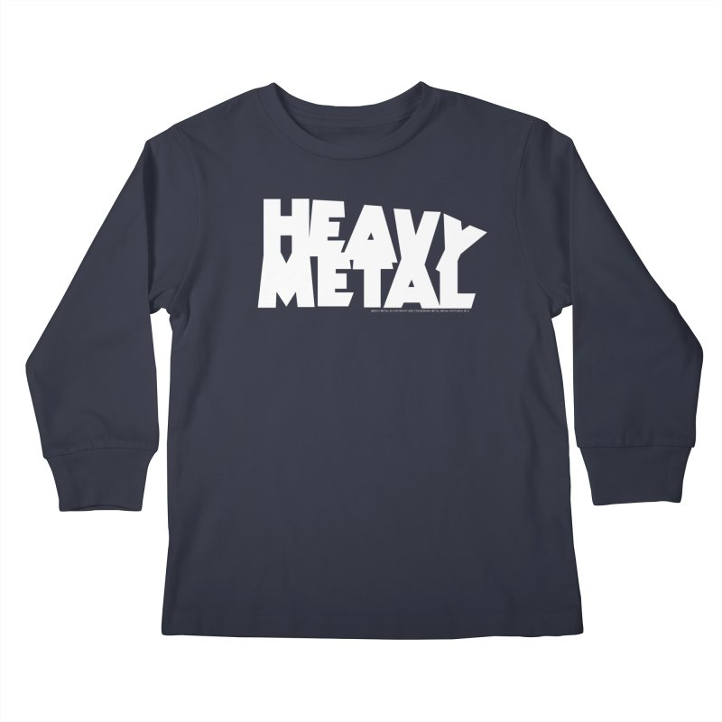 Heavy Metal Kids Longsleeve T-Shirt by Heavy Metal Magazine