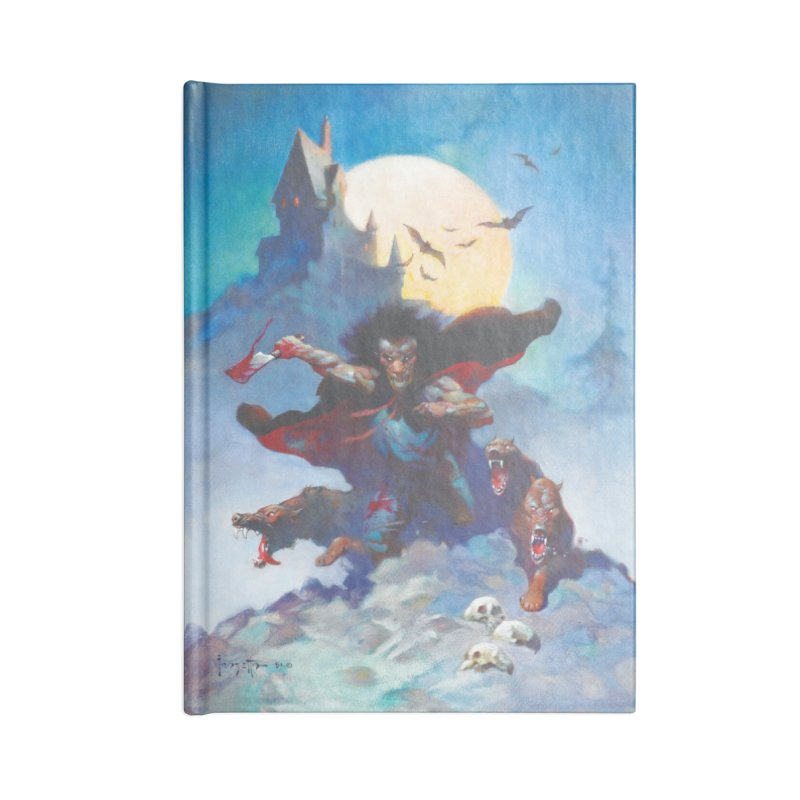 WOLVES NIGHT Accessories Lined Journal Notebook by Heavy Metal Magazine