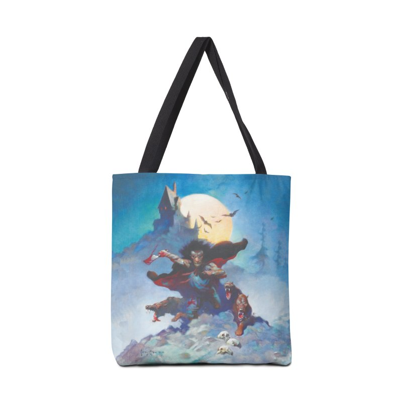 WOLVES NIGHT Accessories Tote Bag Bag by Heavy Metal Magazine