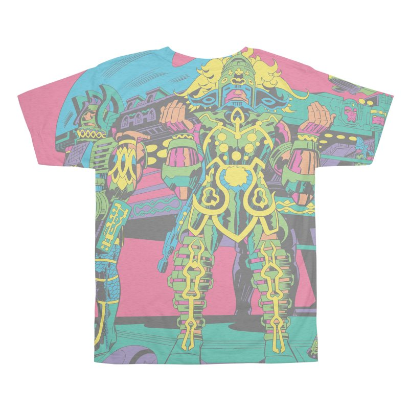 Terminal of the Gods - Jack Kirby and Barry Geller Men's All Over Print by Heavy Metal Magazine