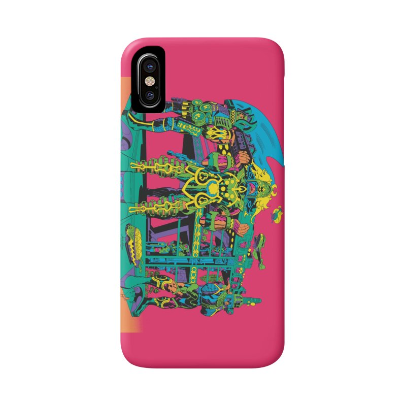 Terminal of the Gods - Jack Kirby and Barry Geller Accessories Phone Case by Heavy Metal Magazine