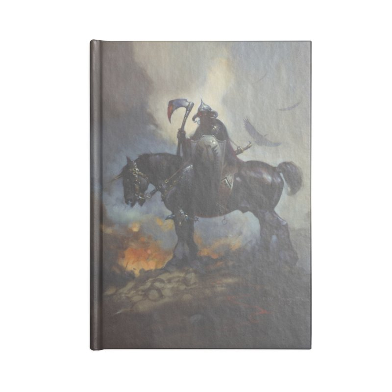 Death Dealer Accessories Lined Journal Notebook by Heavy Metal Magazine