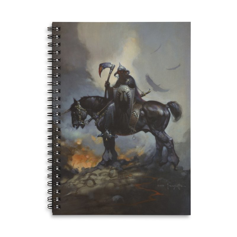 Death Dealer Accessories Lined Spiral Notebook by Heavy Metal Magazine