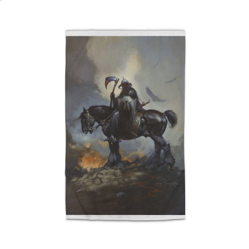 Death Dealer Home Rug by Heavy Metal Magazine