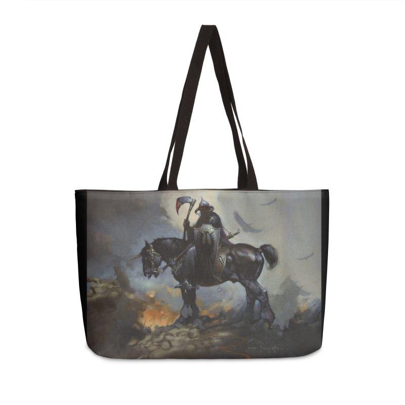 Death Dealer Accessories Weekender Bag Bag by Heavy Metal Magazine