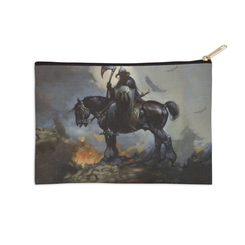 Death Dealer Accessories Zip Pouch by Heavy Metal Magazine