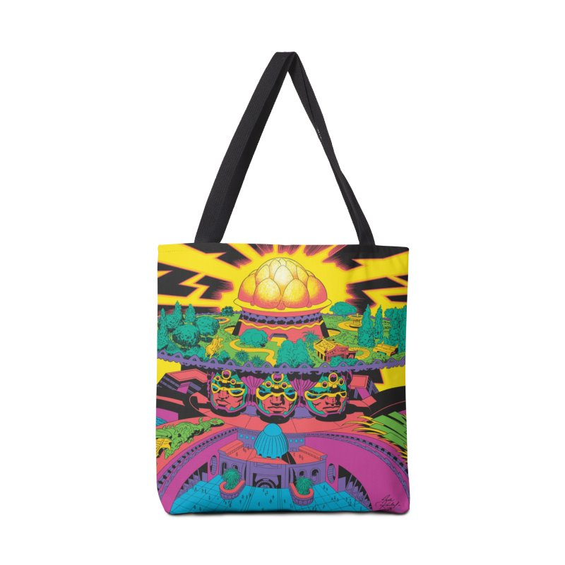 Chambers of Brahma - Jack Kirby and Barry Geller Accessories Tote Bag Bag by Heavy Metal Magazine
