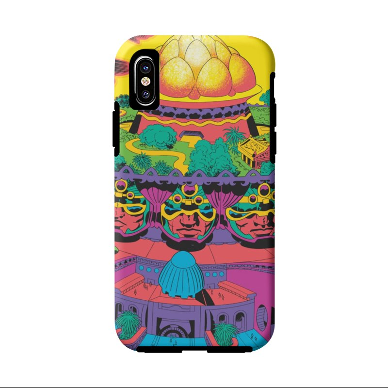 Chambers of Brahma - Jack Kirby and Barry Geller Accessories Phone Case by Heavy Metal Magazine