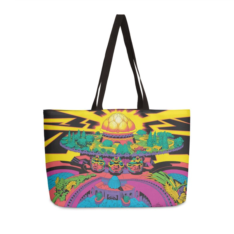 Chambers of Brahma - Jack Kirby and Barry Geller Accessories Weekender Bag Bag by Heavy Metal Magazine