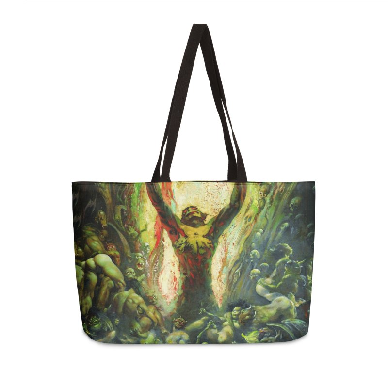 REIGN OF WIZARDRY Accessories Weekender Bag Bag by Heavy Metal Magazine