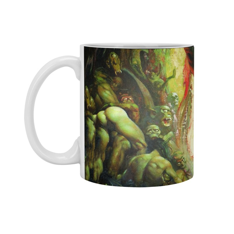 REIGN OF WIZARDRY Accessories Standard Mug by Heavy Metal Magazine
