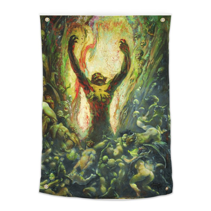 REIGN OF WIZARDRY Home Tapestry by Heavy Metal Magazine