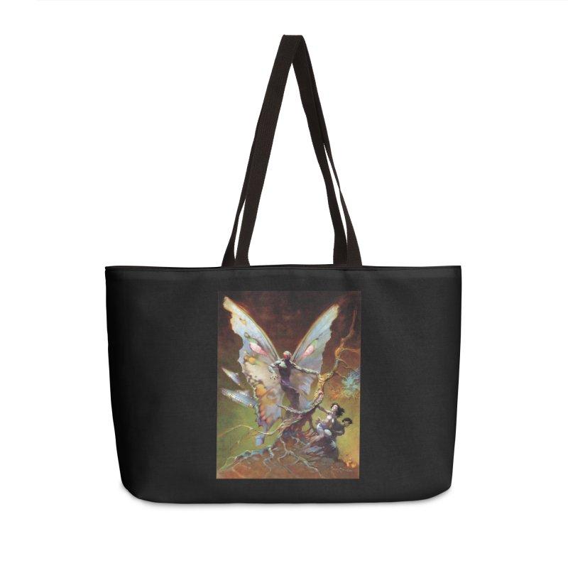 MOTHMAN Accessories Weekender Bag Bag by Heavy Metal Magazine