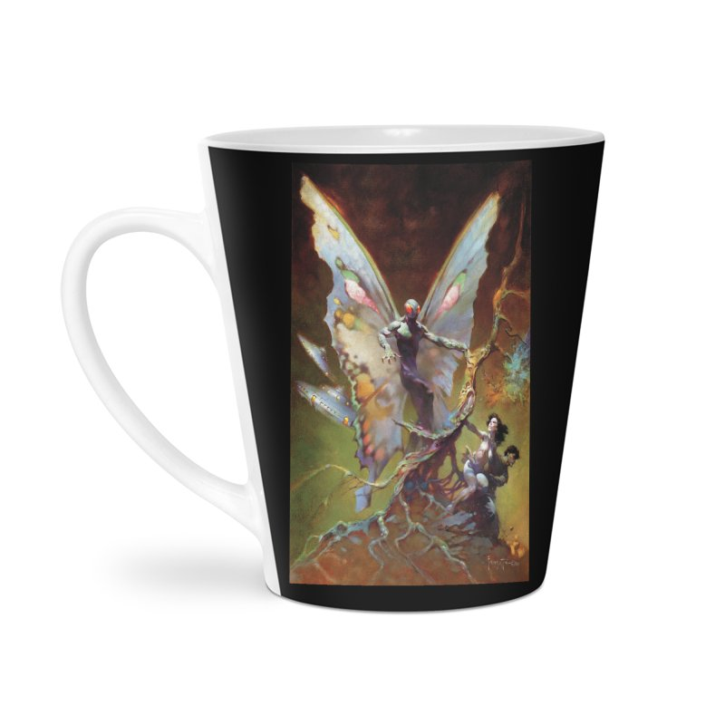 MOTHMAN Accessories Latte Mug by Heavy Metal Magazine