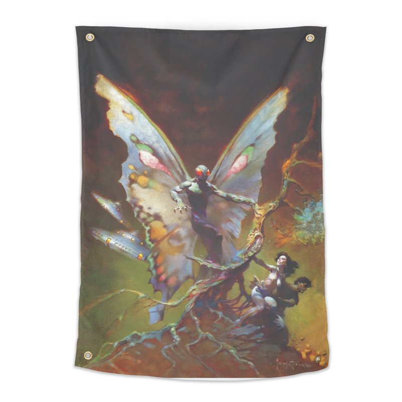 MOTHMAN Home Tapestry by Heavy Metal Magazine