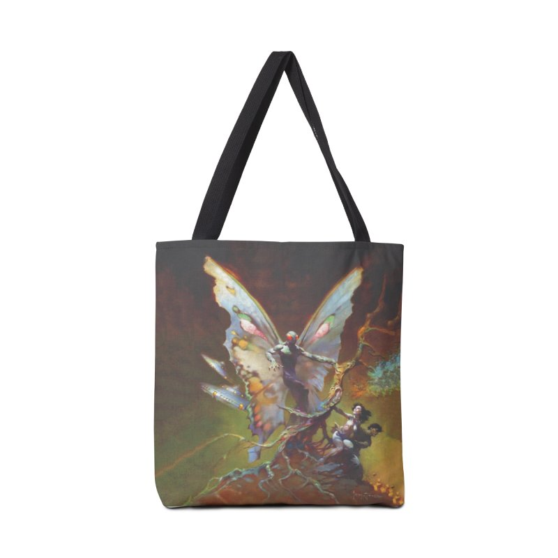 MOTHMAN Accessories Tote Bag Bag by Heavy Metal Magazine