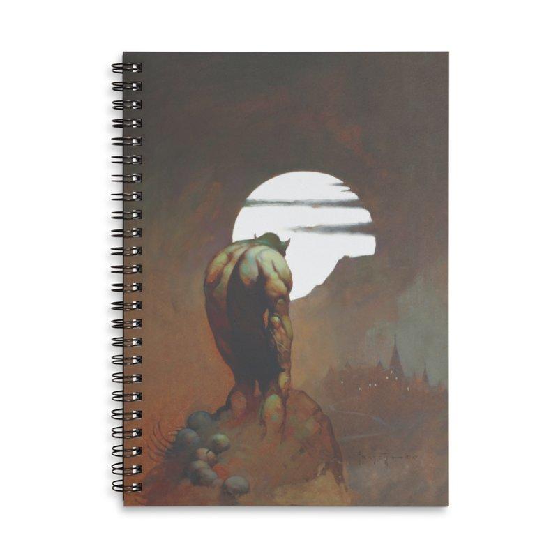 NIGHTSTALKER Accessories Lined Spiral Notebook by Heavy Metal Magazine