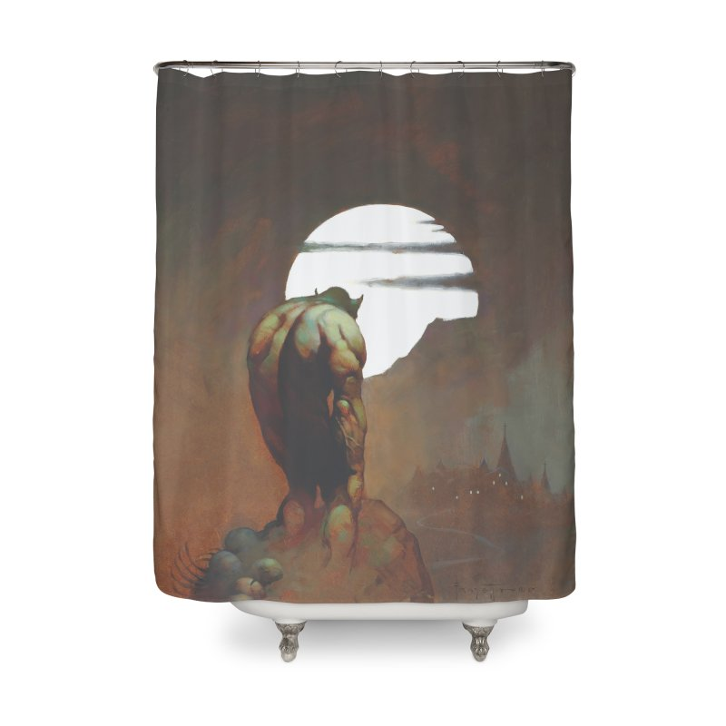 NIGHTSTALKER Home Shower Curtain by Heavy Metal Magazine