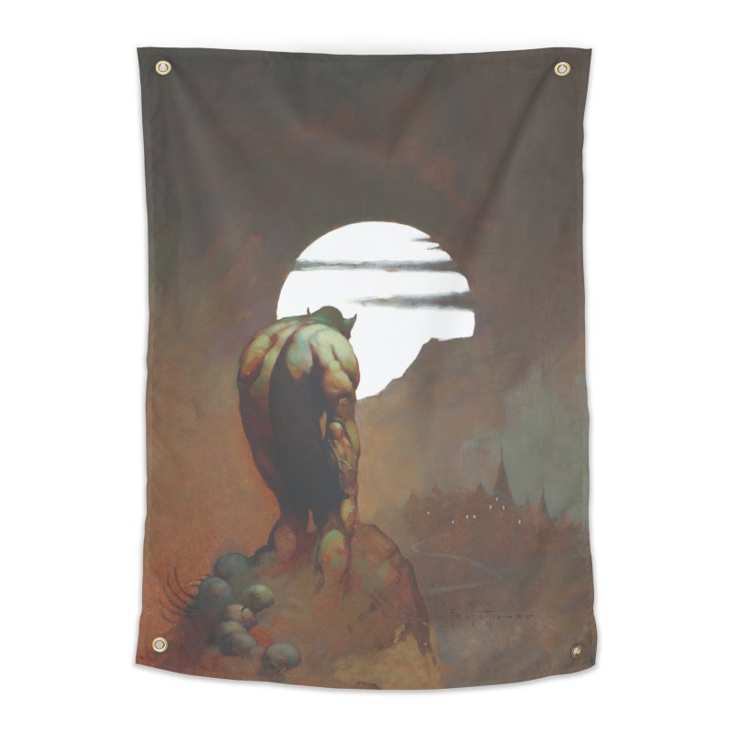 NIGHTSTALKER Home Tapestry by Heavy Metal Magazine