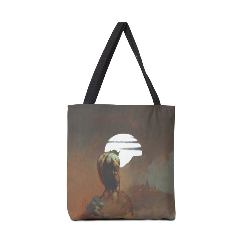 NIGHTSTALKER Accessories Tote Bag Bag by Heavy Metal Magazine