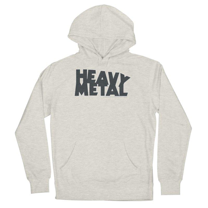 Heavy Metal Black Logo Men's Pullover Hoody by Heavy Metal Magazine