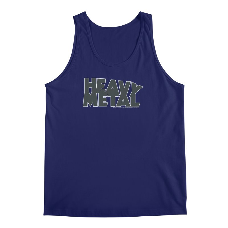 Heavy Metal Black Logo Men's Regular Tank by Heavy Metal Magazine