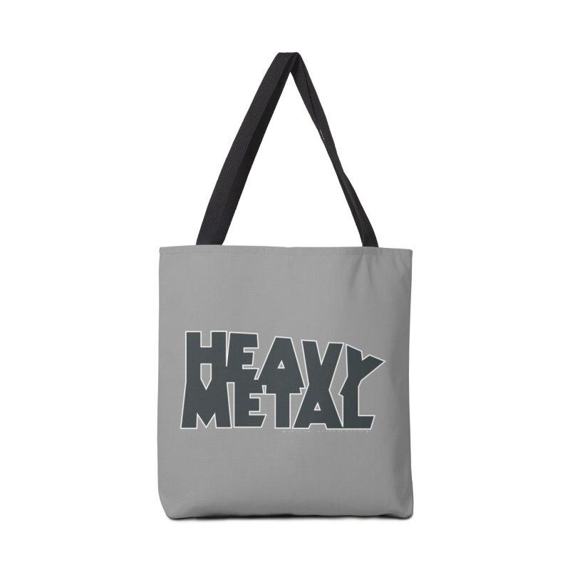 Heavy Metal Black Logo Accessories Bag by Heavy Metal Magazine