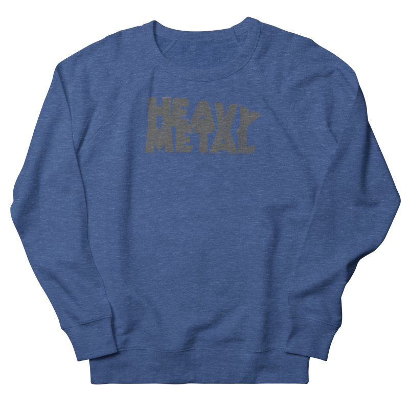 Heavy Metal Distressed Women's Sweatshirt by Heavy Metal Magazine
