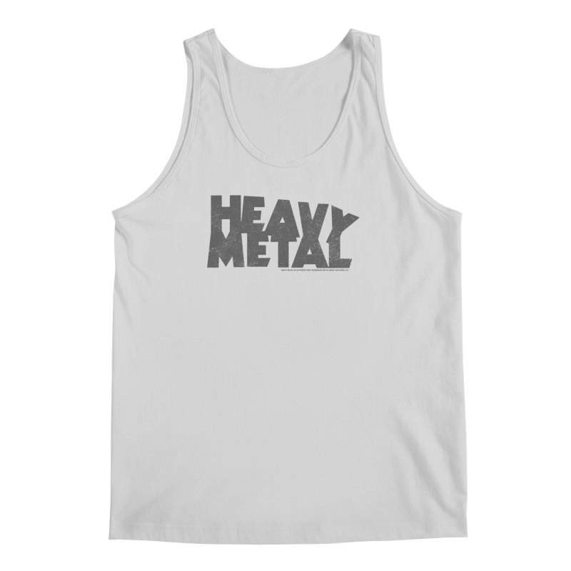 Heavy Metal Distressed Men's Regular Tank by Heavy Metal Magazine