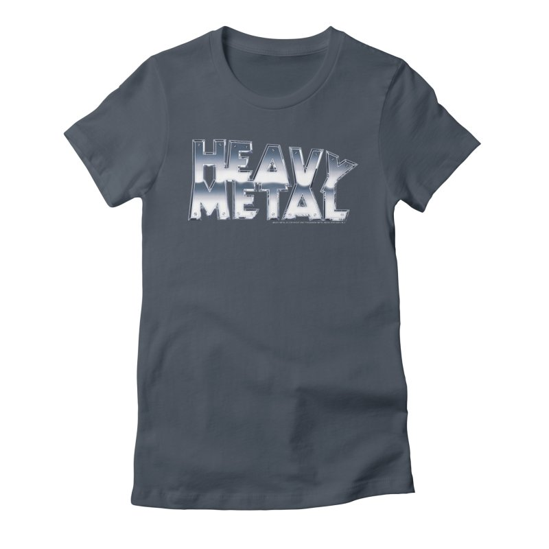 Heavy Metal Chrome Logo v2 Women's T-Shirt by Heavy Metal Magazine