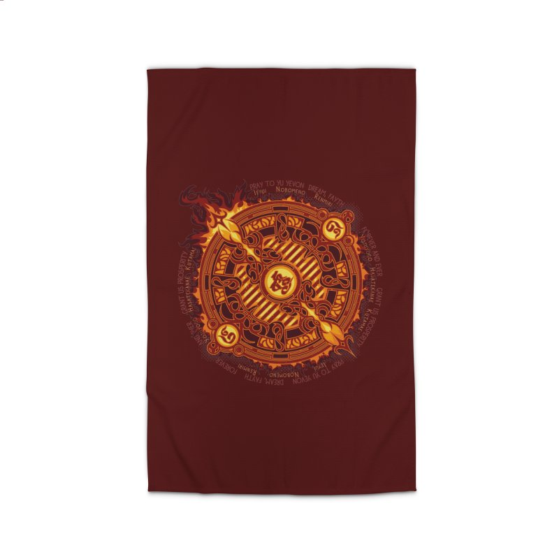 Ifrit Seal Home Rug by hechicero's Magic Shop
