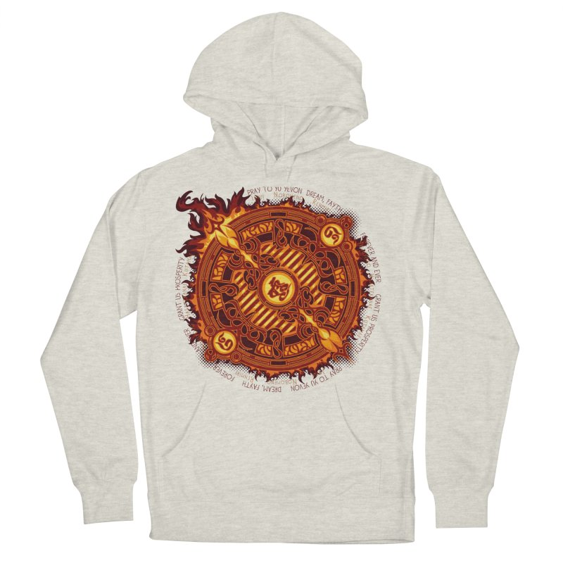 Ifrit Seal Women's French Terry Pullover Hoody by hechicero's Magic Shop