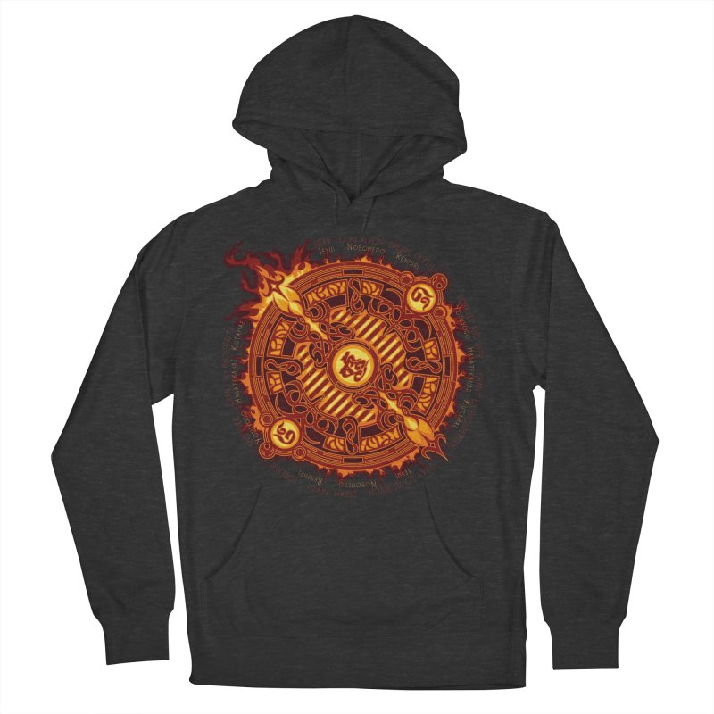 Ifrit Seal Men's Pullover Hoody by hechicero's Magic Shop