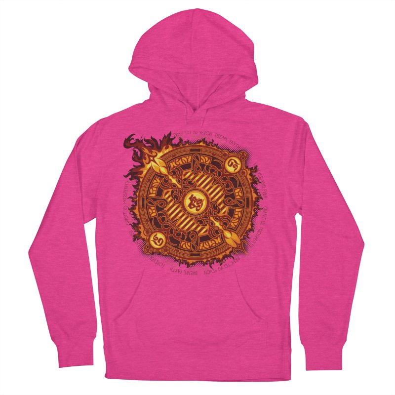 Ifrit Seal Men's French Terry Pullover Hoody by hechicero's Magic Shop