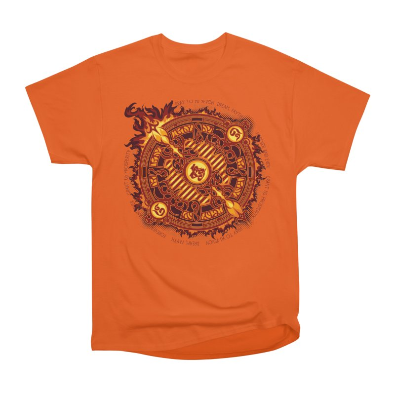 Ifrit Seal Men's Heavyweight T-Shirt by hechicero's Magic Shop