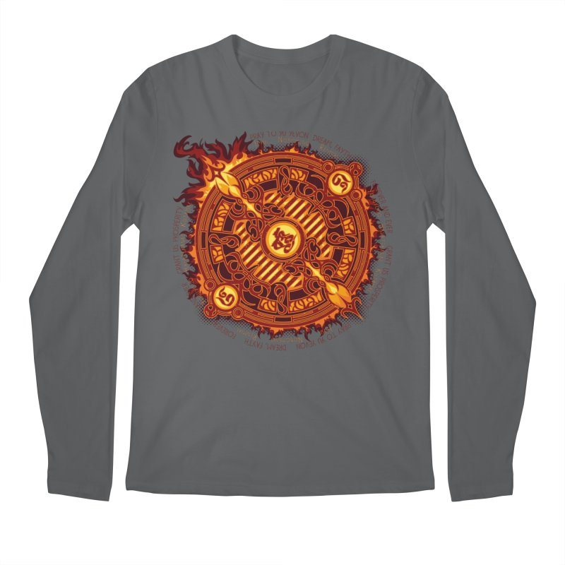 Ifrit Seal Men's Regular Longsleeve T-Shirt by hechicero's Magic Shop