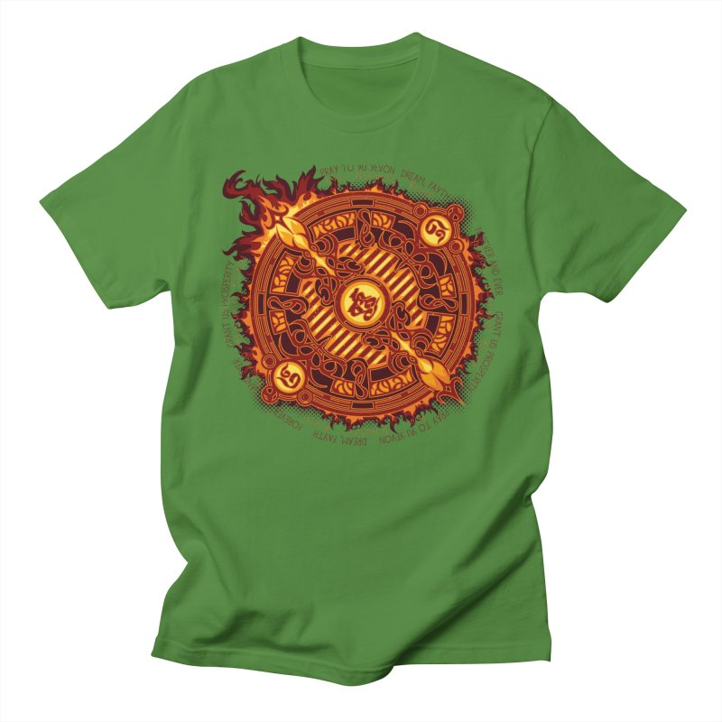Ifrit Seal Women's Regular Unisex T-Shirt by hechicero's Magic Shop